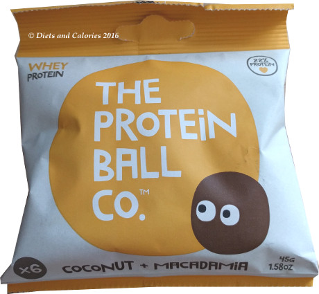 Diets And Calories Bounce And Protein Ball Co Mini