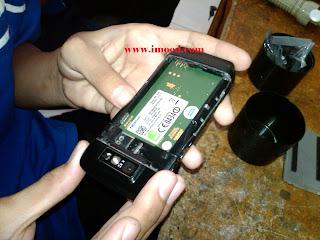 Tutorial lengkap cara bongkar Nokia E71