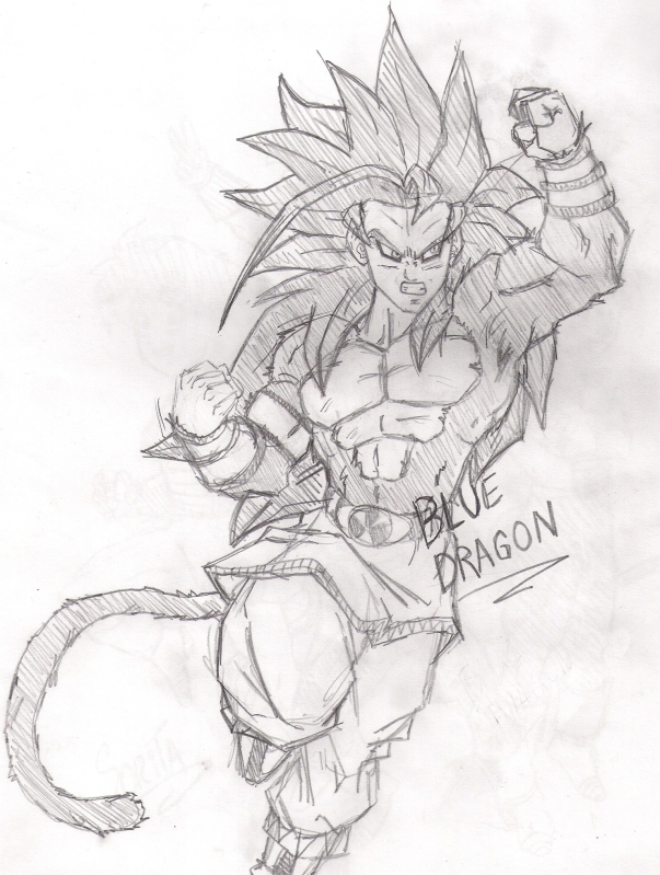 Dibujos De Goku Vs Black Para Colorear