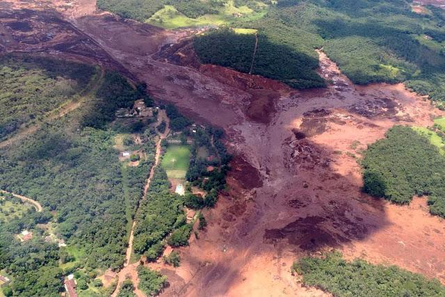 Bombeiros estimam cerca de 200 desaparecidos após barragem se romper em Brumadinho (MG)