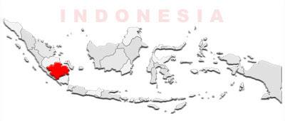 image: South Sumatra map location