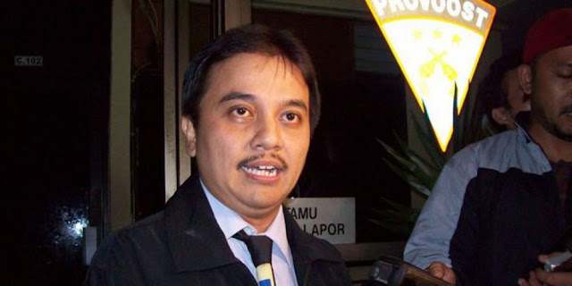 Roy Sindir Media Mainstream Memberitakan Kinerja Pemerintahan Jokowi