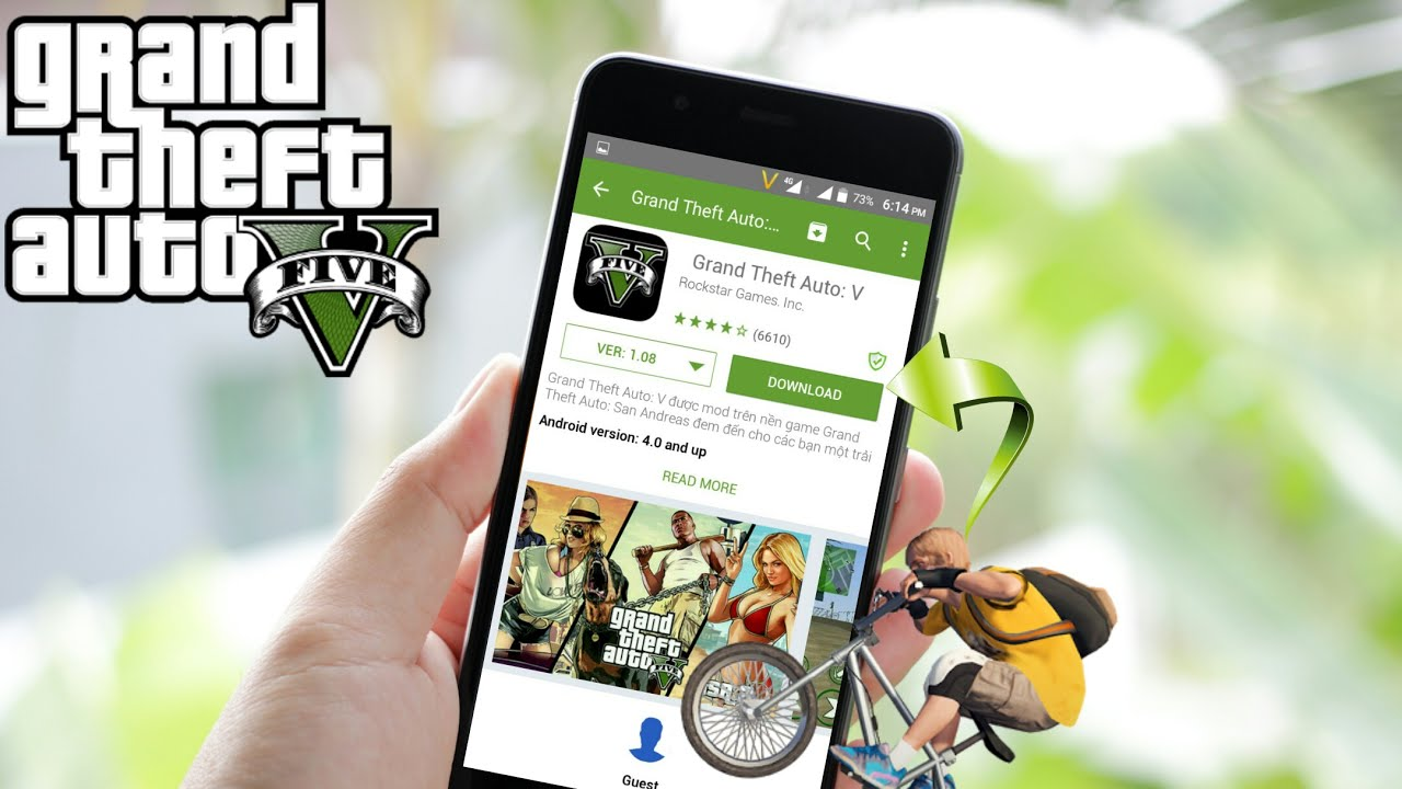 Download GTA 5 by Unity 50 MB Only (GTA V For Android V1 7
