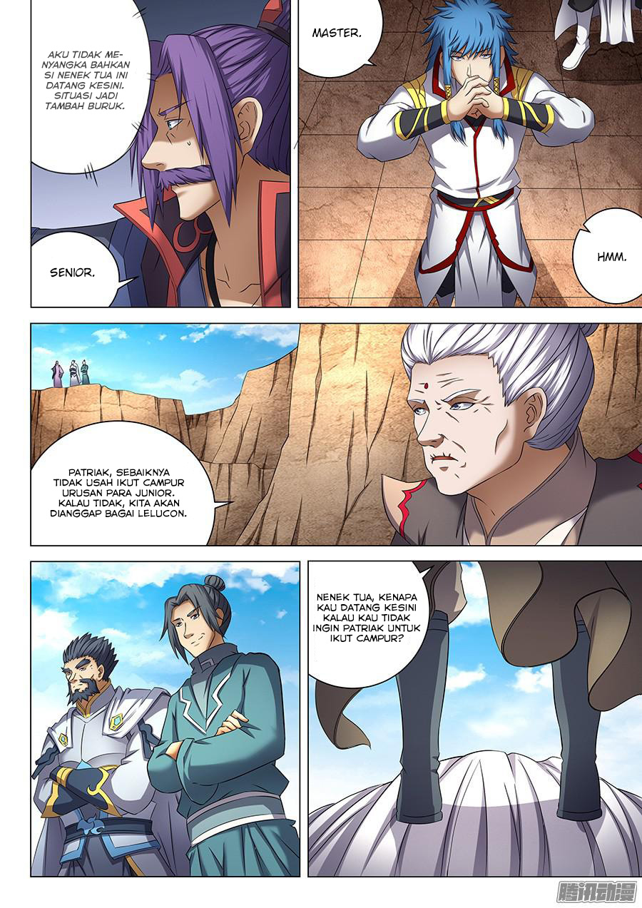 Baca Komik Manga God of Martial Arts Chapter 41.2 Komik Station