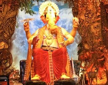 The Lalbaugcha Raja idol arrives for Ganesh Chaturthi 2018