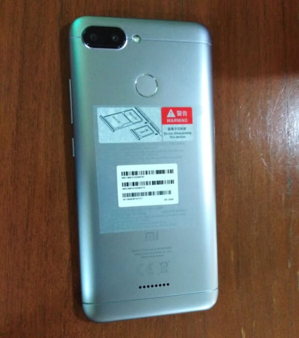 Xiaomi Redmi 6 - Back
