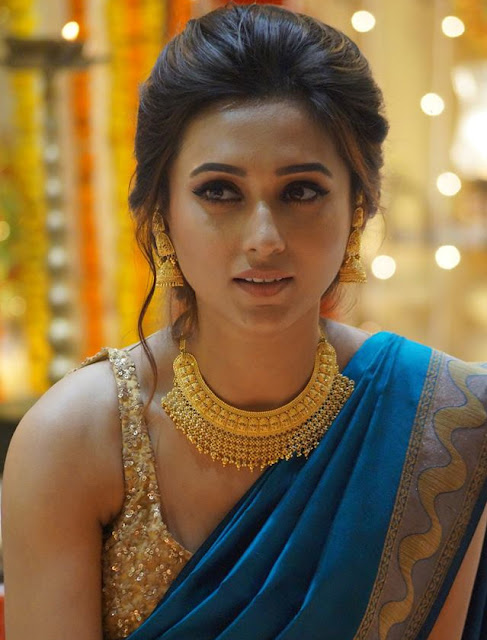 Mimi Chakraborty in Saree