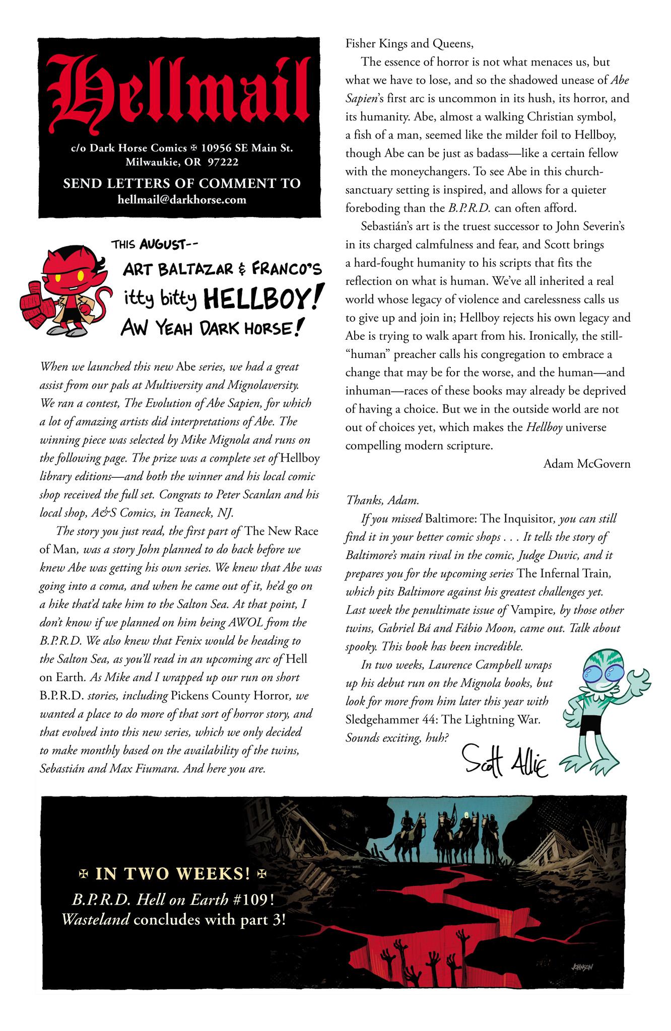 Read online Abe Sapien comic -  Issue #4 - 25