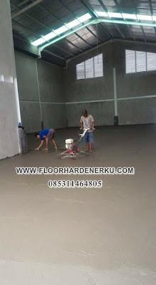 Jasa Floor Hardener Lantai Gudang Murah Berkualitas