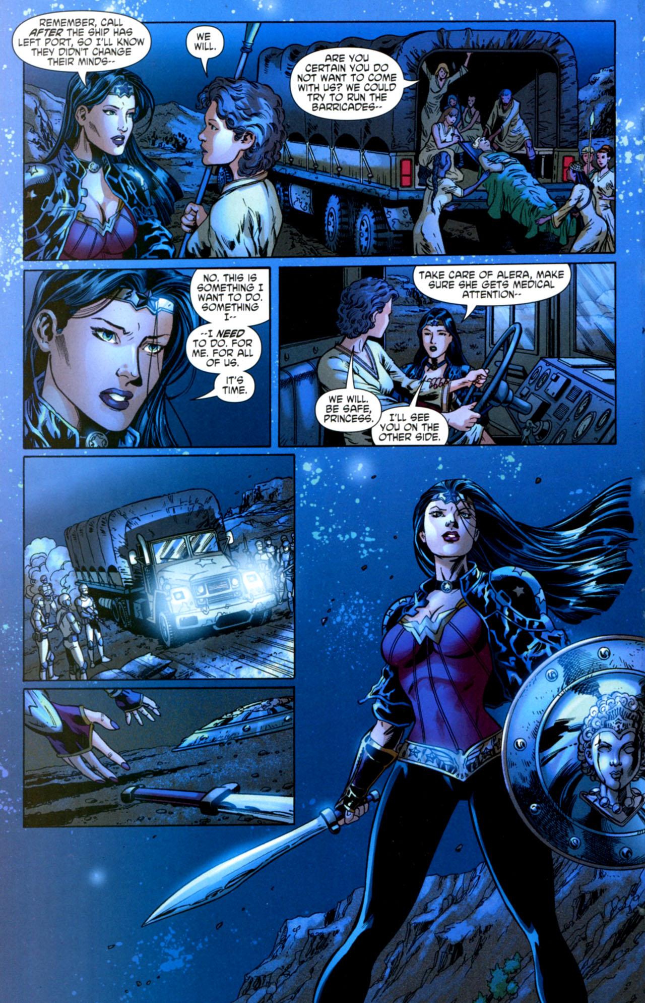 Read online Wonder Woman (2006) comic -  Issue #603 - 20