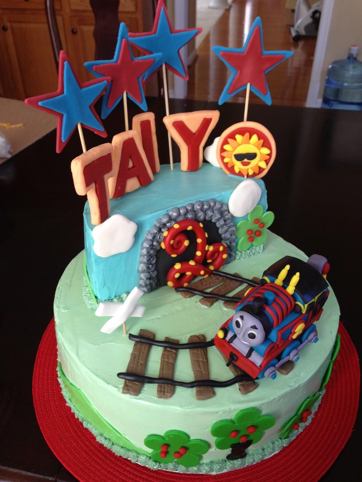 Joyce Gourmet Thomas The Tank Engine Cake