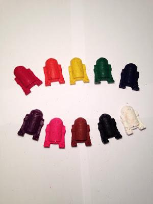 R2D2 Crayons