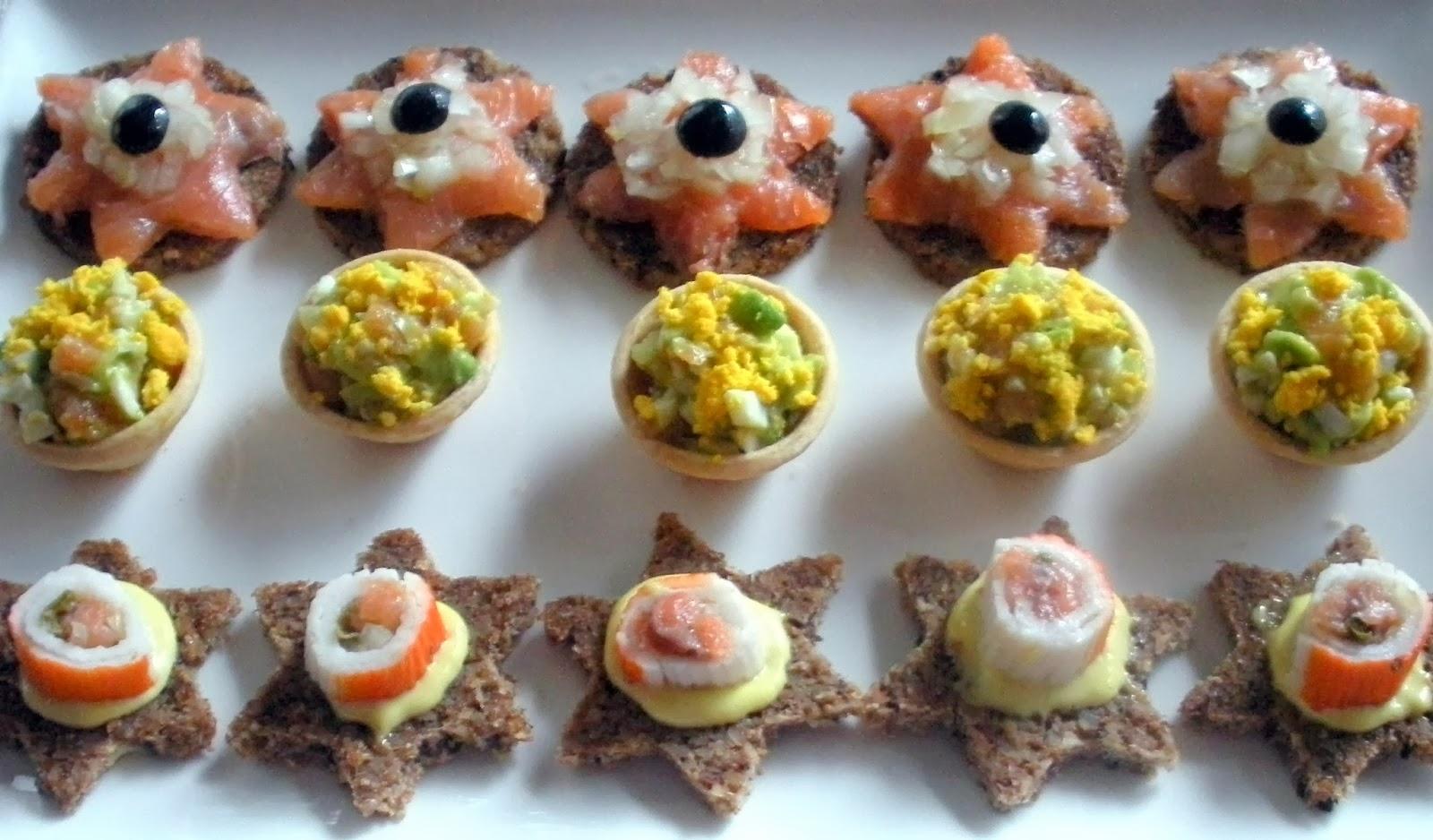 Aqu se cocina canap s for Canape de salmon ahumado