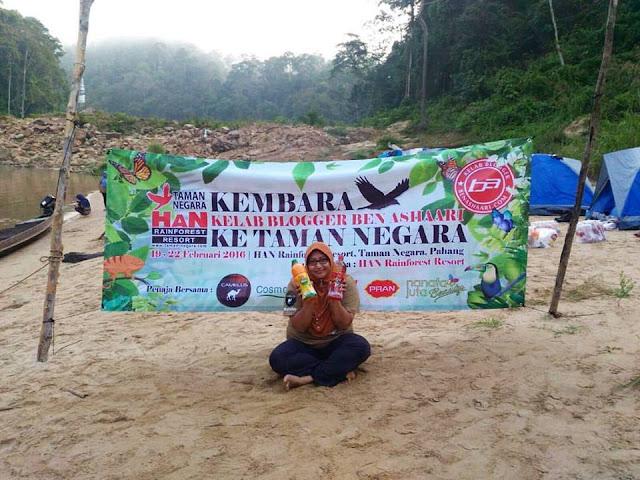 Camping di Kampung Dedari, Malaysia