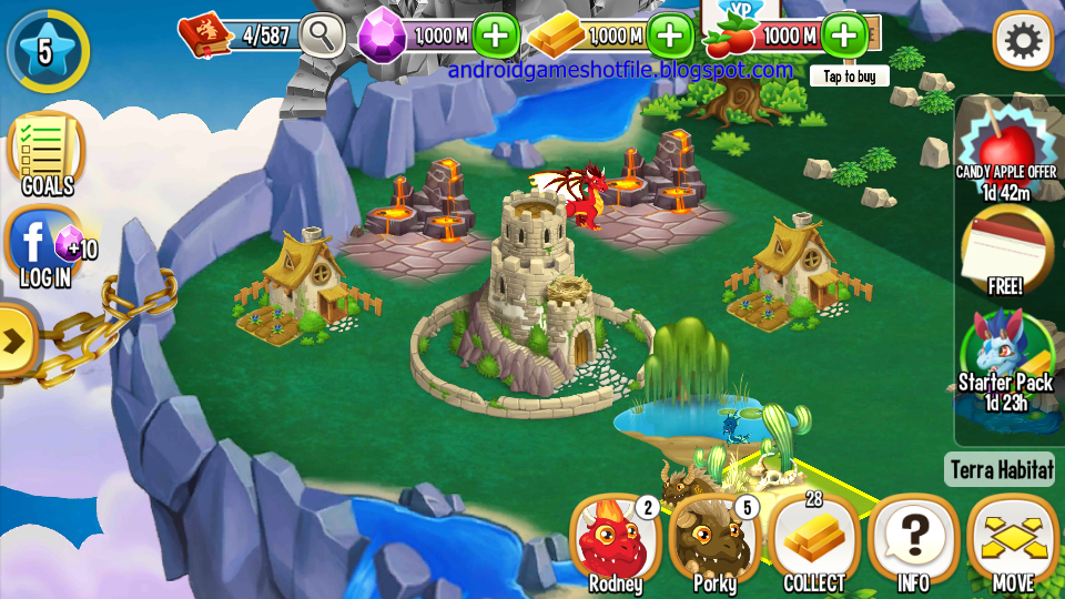 Dragon City Mod Apk Unlimited Gems And Money And Food