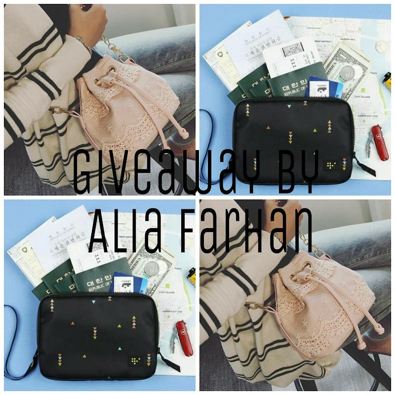 Giveaway by Alia Farhan