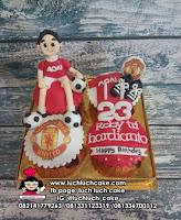 Cupcake Manchester United Untuk Pacar dan Suami