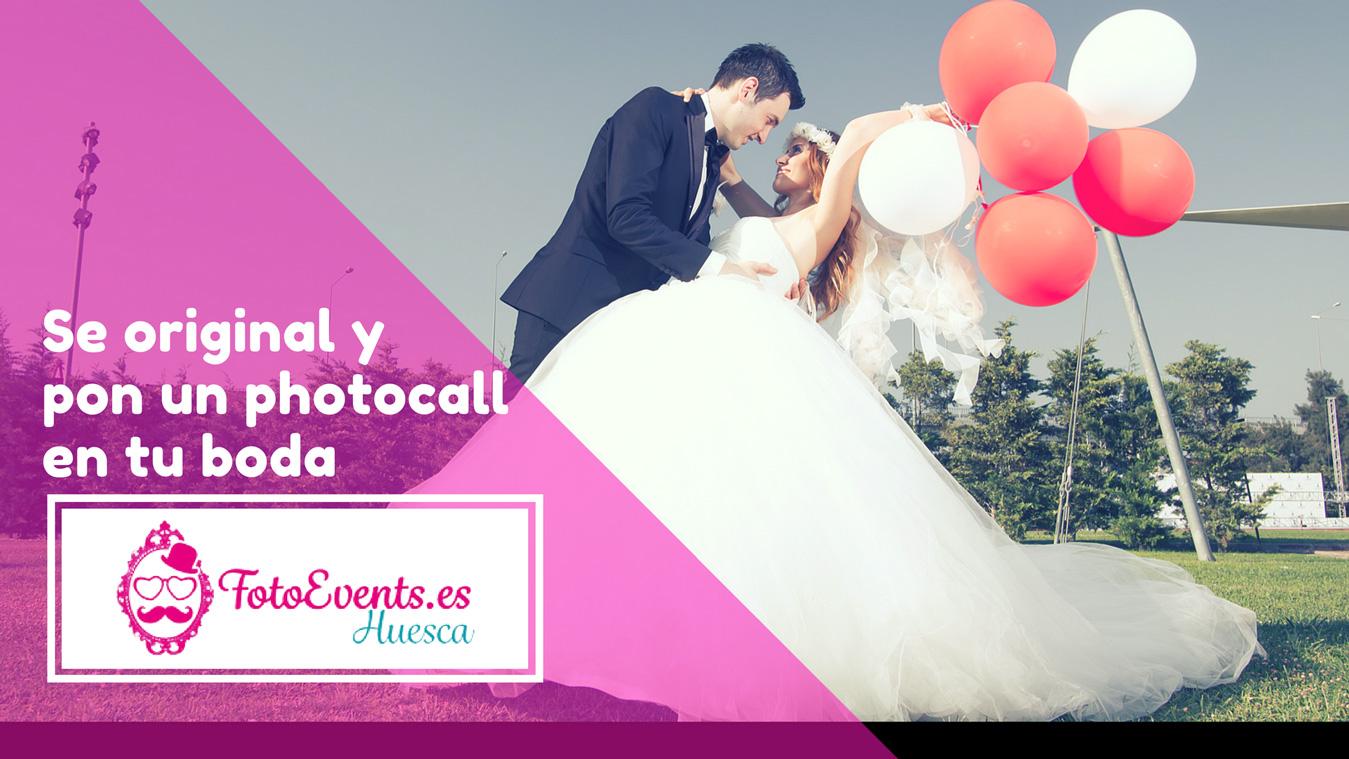 photocall bodas fotoevents huesca