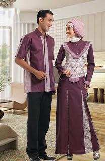 Baju Lebaran Idul Fitri Couple