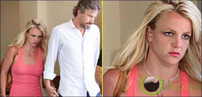Britney Spears dan Jason Trawick