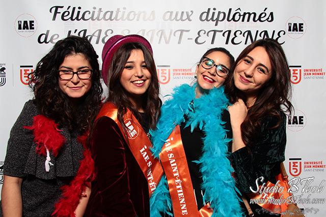 Photobooth pour l'iae Saint-etienne
