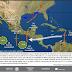 En Guerrero, Puebla, Veracruz, Oaxaca y Chiapas se prevén tormentas intensas