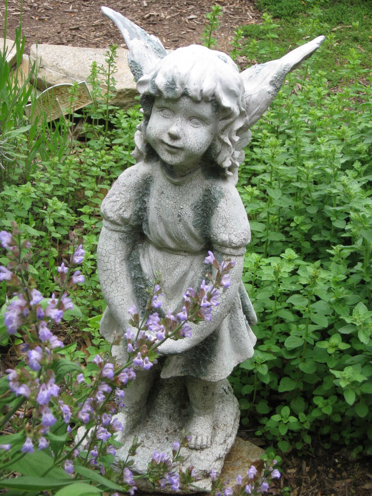 Garden Angel Birds Blooms Books Etc Garden Angels