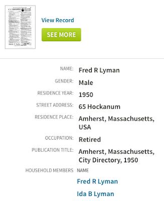 lyman family history 1950