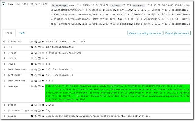 Elasticsearch: Simple Log File Indexing