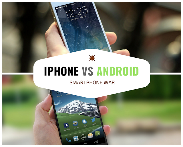 Android VS iOS, Which Side Are You On?