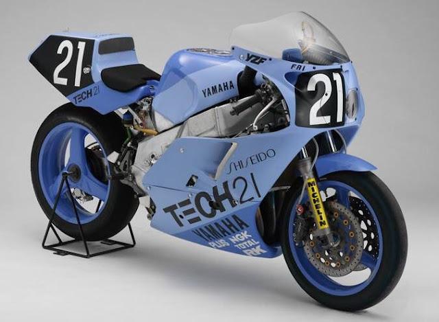 1987 Shiseido Tech 21 Yamaha YZF 750 OW89 Endurance Racer