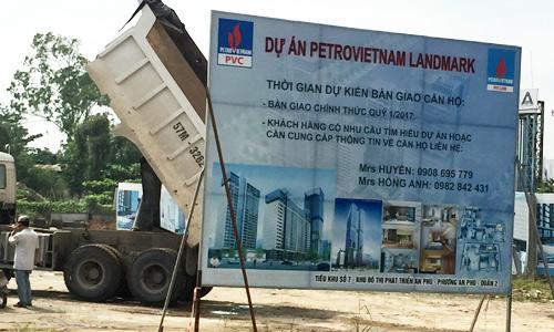 Chủ đầu tư không trả được 2,6 tỷ, khách hàng căn hộ chung cư cao cấp Petro Landmark lo nguy cơ mất nhà 555