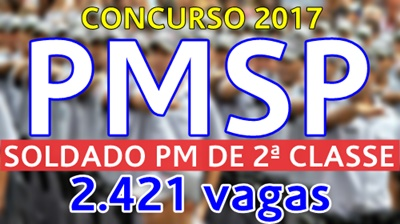 Concurso PM-SP 2017 Soldado PM