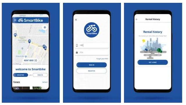 Smart Bike Mobile app free download