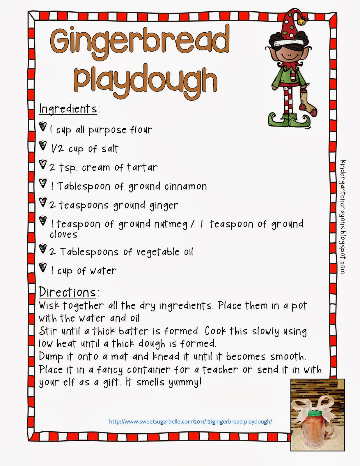 Gingerbread Playdoh Easy Should Probably Double Recipe