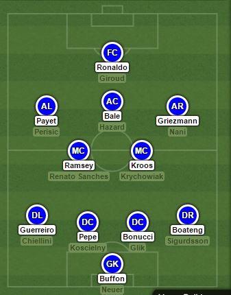 11 Pemain Terbaik Piala Eropa 2016