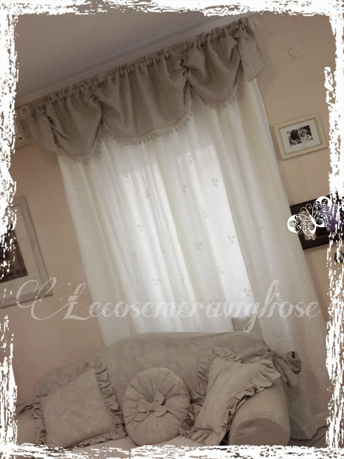 Lecosemeravigliose shabby e country chic passions tende for Tende country chic