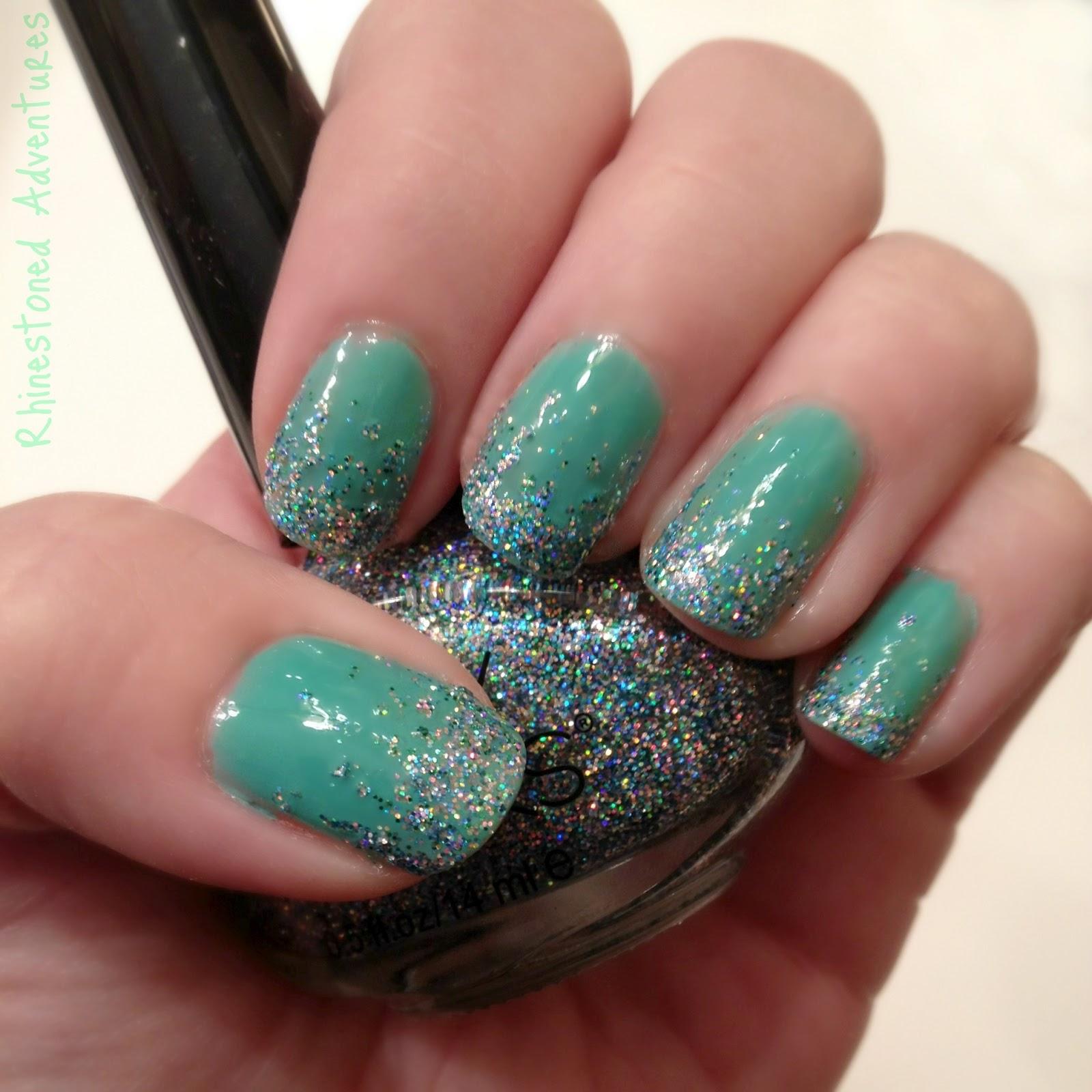 700+ nails mermaid rhinestoned adventures ariel