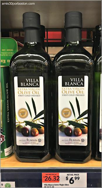 Aceite de Oliva Virgen Extra Español en Comercios de Massachusetts
