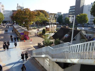 岡東中央公園 ふれあい通り 枚方市役所