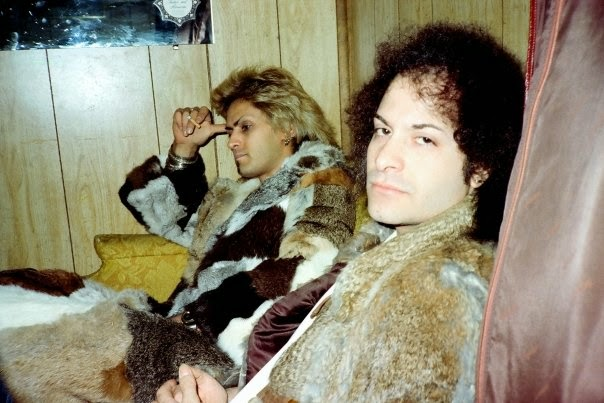 Joe's rockstar coat & Louie Russomanno... I can't believe I found the pic! Check out that fb page!