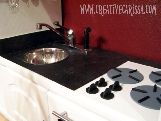 This post is part of a mini-series on how to make your own play kitchen from a re-purposed piece of furniture. The beginning of the series with photos of ... & How to Make a DIY Play Kitchen Part 3: How to Make the Sink ...