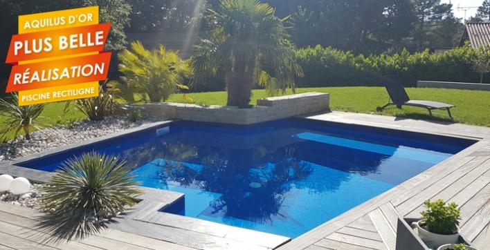 Les plus belles r alisations piscines spas et m 39 water d for Construction piscine angouleme