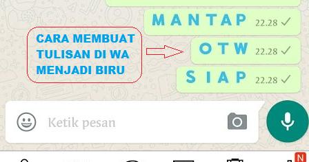 √ Cara Merubah Warna Tulisan Di Whatsapp Tanpa Aplikasi - Kupas Habis