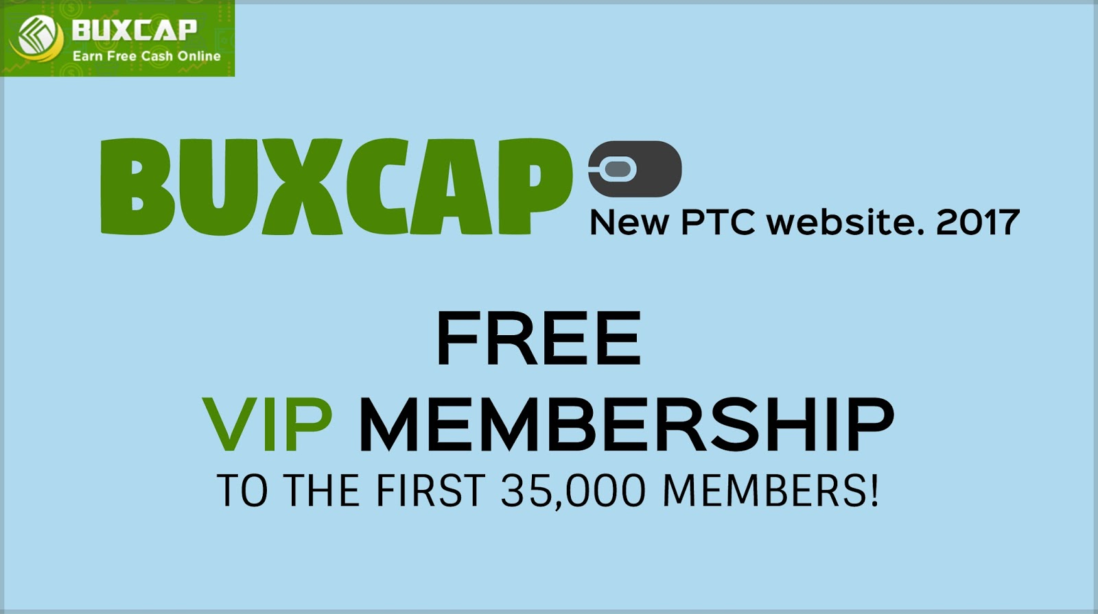 BuxCap - New PTC website | LegitPTC