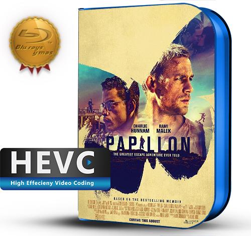 Papillon (2017) 1080P 8Bits  HEVC BDRip Ingles(Subt.Esp)(Thriller,Drama)