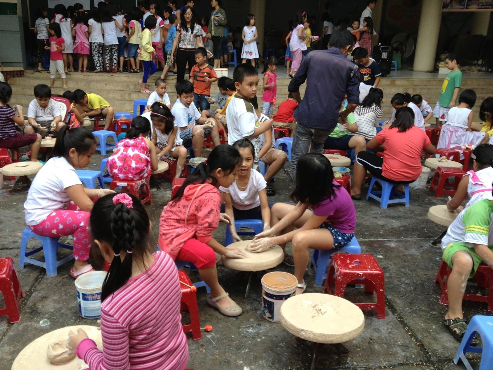 Bat Trang pottery village Hanoi Vietnam 5