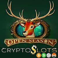 Deposit Bonuses Give You More Play Time on Cryptoslots' New Open Season Slot