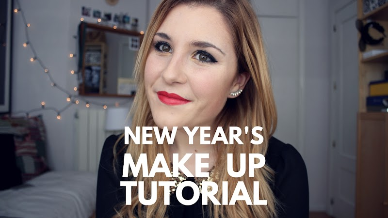 VIDEO | NEW YEAR'S MAKE UP TUTORIAL