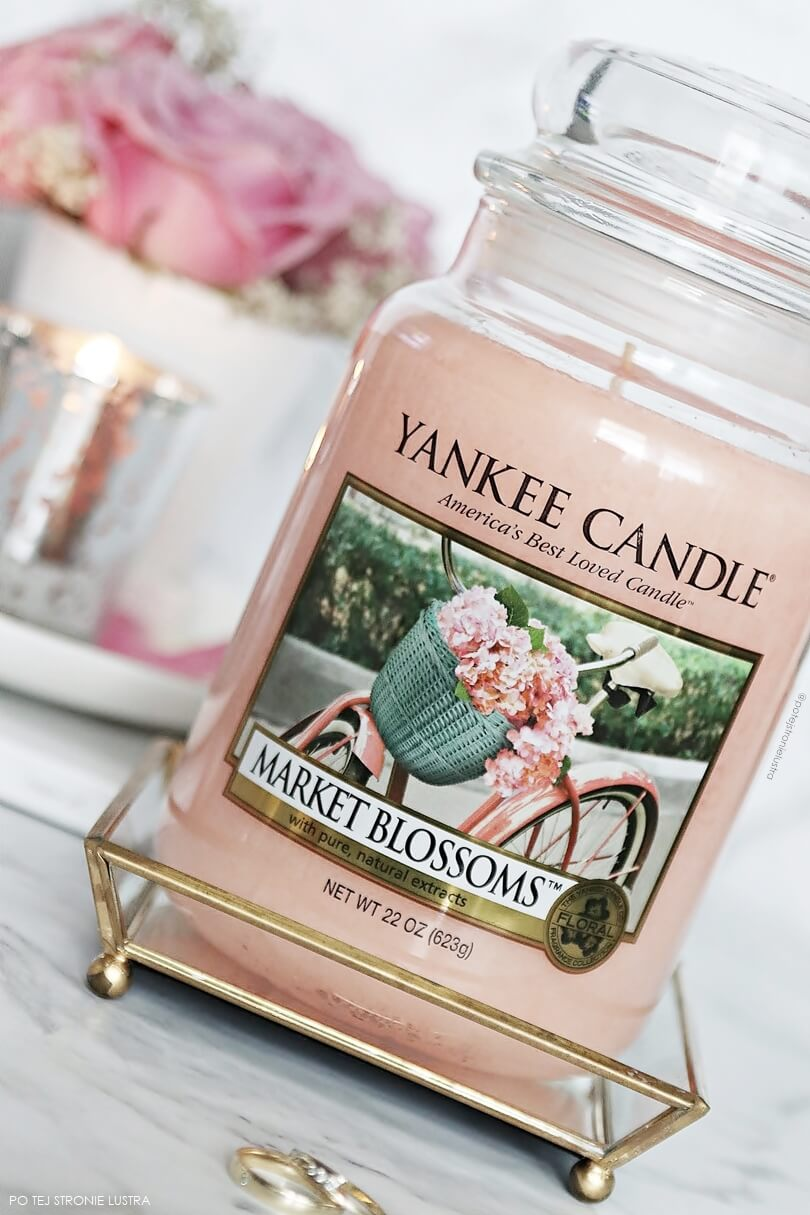 świeca yankee candle market blossoms blog